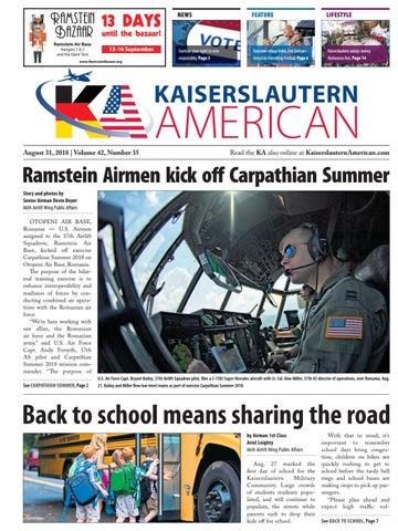 Kaiserslautern American, August 31, 2018