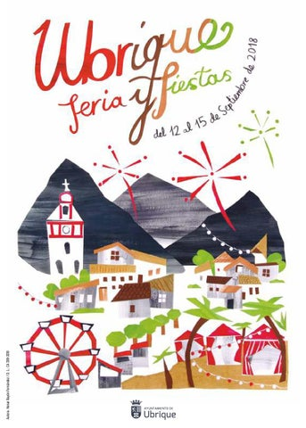 Programa de la Feria y Fiestas de Ubrique 2018