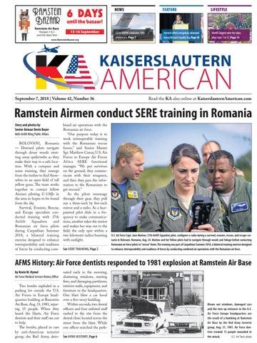 Kaiserslautern American, September 7, 2018