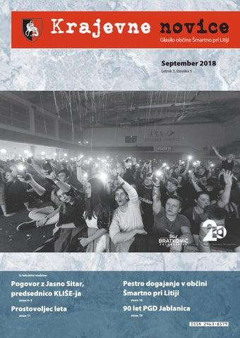 Krajevne novice september 2018 (Letnik 3, št. 5)