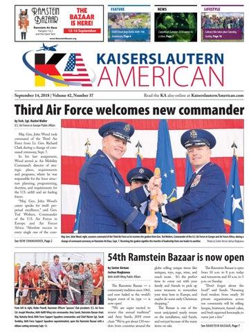 Kaiserslautern American, September 14, 2018
