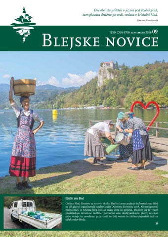 Blejske novice - september 2018