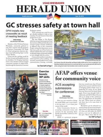 Herald Union, September 20, 2018
