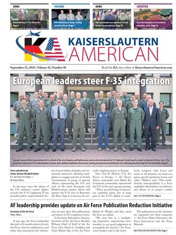 Kaiserslautern American, September 21, 2018