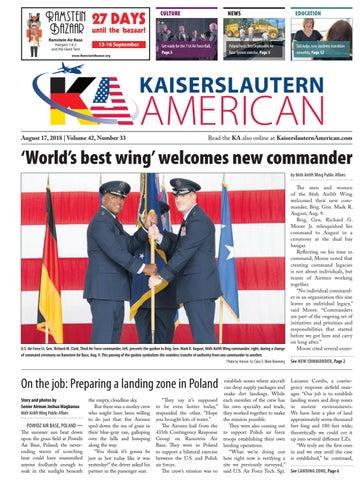 Kaiserslautern American, August 17, 2018