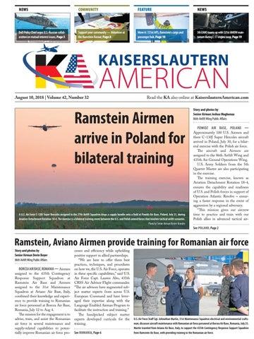 Kaiserslautern American, August 10, 2018