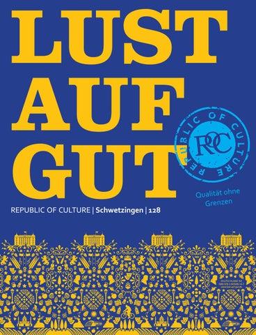LUST AUF GUT Magazin | Schwetzingen Nr. 128