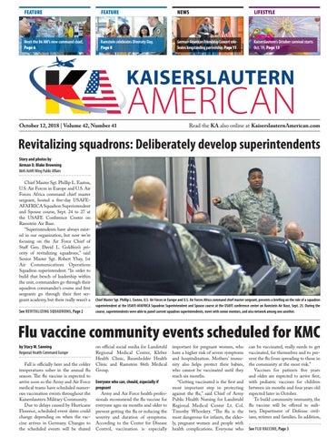 Kaiserslautern American, October 12, 2018