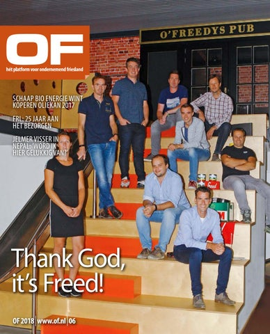 Ondernemend Friesland editie 6 oktober 2018