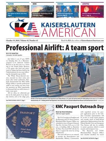Kaiserslautern American, October 19, 2018