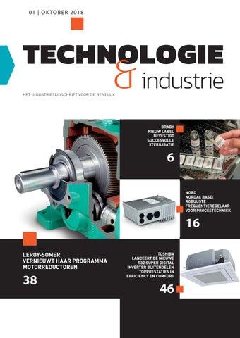 Technologie & industrie | 01 - Oktober 2018