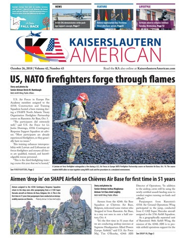 Kaiserslautern American, October 26, 2018