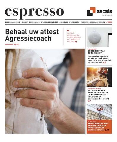 Escala Espresso 2 - 2018