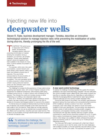 Injecting new life into deepwater wells