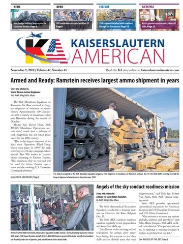 Kaiserslautern American, November 9, 2018