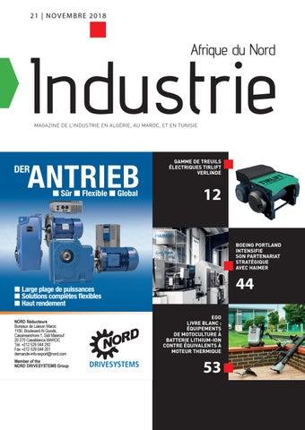 Industrie Afrique du Nord | 21 - Novembre 2018
