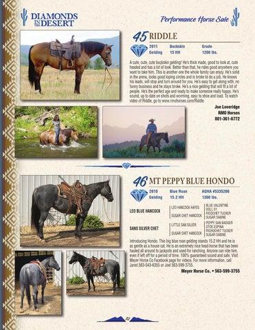 LivestockDirect | 2018 Diamonds in the Desert Sale Catalog