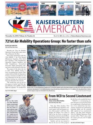 Kaiserslautern American, November 16, 2018