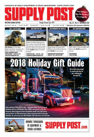 Supply Post Western Cover - December 2018