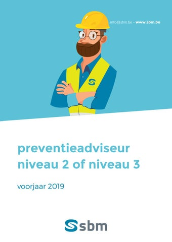 SBM Preventieadviseur voorjaar 2019