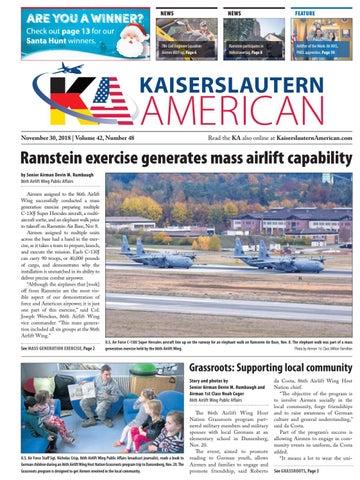 Kaiserslautern American, November 30, 2018