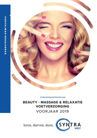 Syntra West Beauty voorjaar 2019