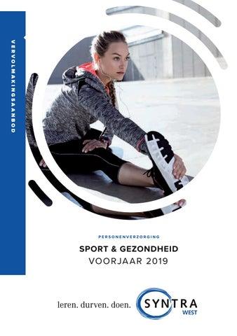 Syntra West Sport en gezondheid voorjaar 2019
