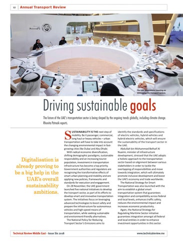 Driving sustainable goals