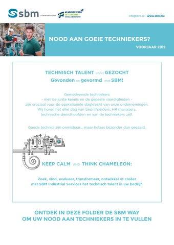 SBM Screening techniekers - Machinebouw Voorjaar 2019