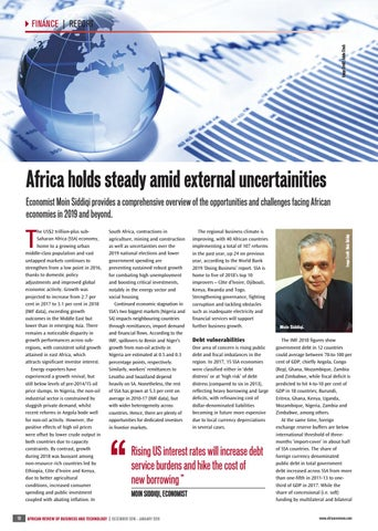 Africa holds steady amid external uncertainities