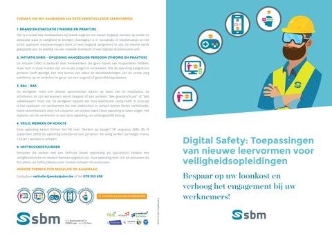 SBM Digital safety Voorjaar 2019