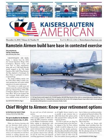 Kaiserslautern American, December 14, 2018