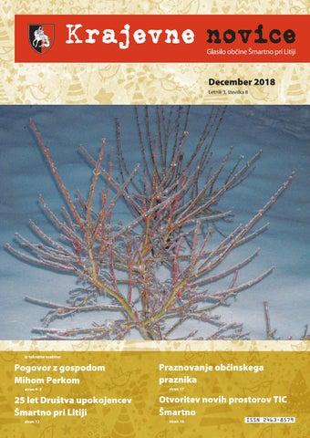 Krajevne novice december 2018 (letnik 3, št. 8)