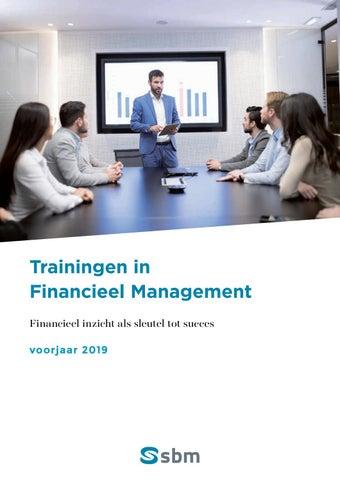 SBM trainingen financieel management voorjaar 2019