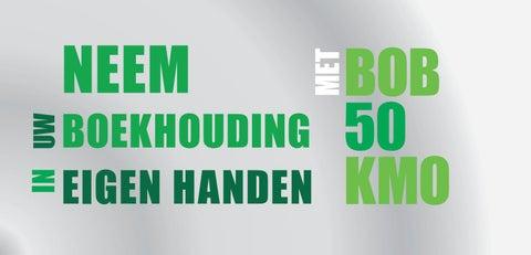 SBM BOB 50 KMO Voorjaar 2019