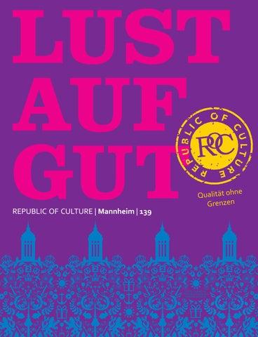 LUST AUF GUT Magazin | Mannheim Nr. 139