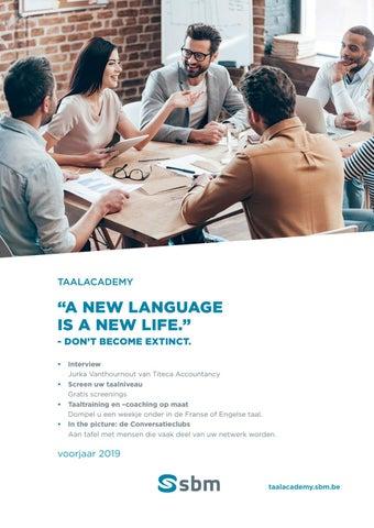 SBM opleidingen taal Voorjaar 2019