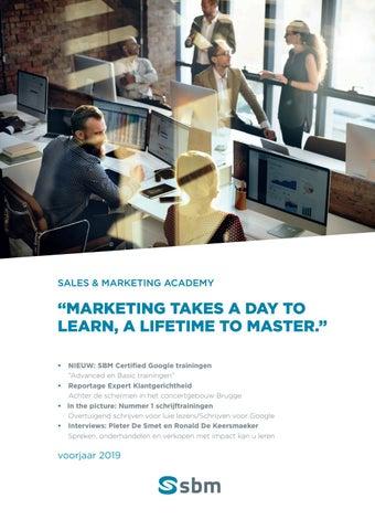 SBM Sales en marketing Voorjaar 2019