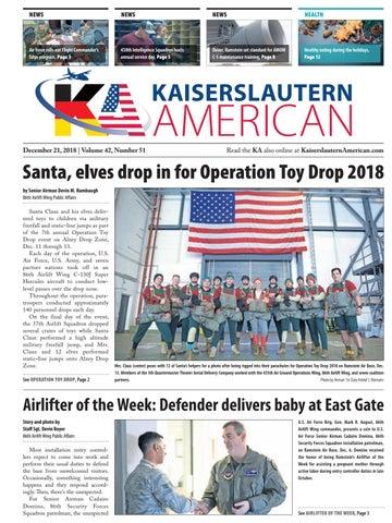 Kaiserslautern American, December 21, 2018