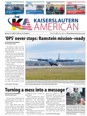 Kaiserslautern American, January 11, 2019