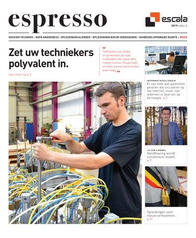 Escala Espresso 3 - 2019