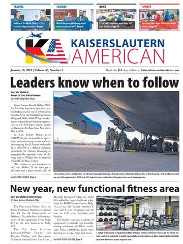 Kaiserslautern American, January 18, 2019