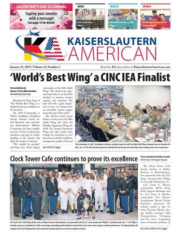 Kaiserslautern American, January 25, 2019