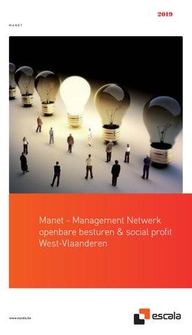 Escala MANET - Intersectoraal management netwerk Voorjaar 2019