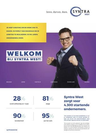 Syntra West krant voorjaar 2019