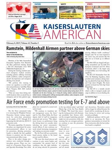 Kaiserslautern American, February 8, 2019