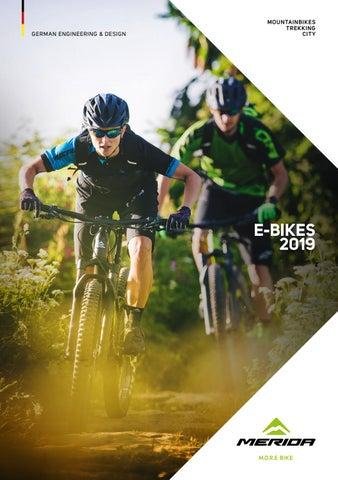 Bicicletas Merida e-bikes 2019