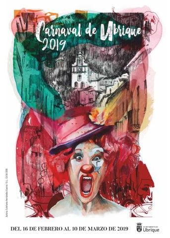 Programa del Carnaval de Ubrique 2019