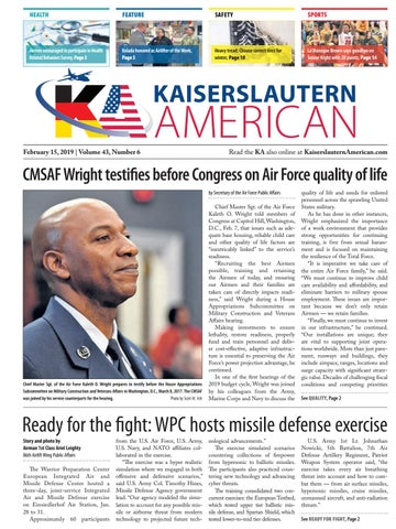 Kaiserslautern American, February 15, 2019