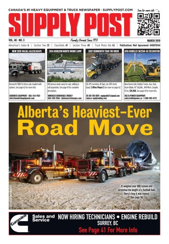 Supply Post Canadian-Wide Cover - February 2019